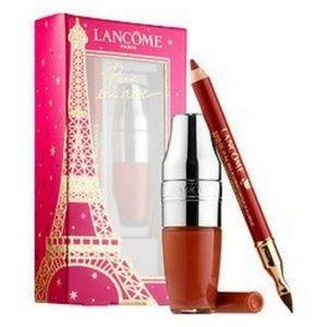 NIB Lancome Lip Duo Juicy Shaker & Le Lipstique